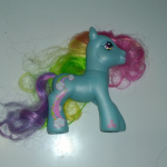 My Little Pony 2007 Rainbow Dash Pony loose